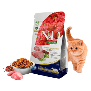 N&D - QUINOA CAT